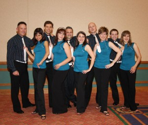 West Coast Swing team choregraphy