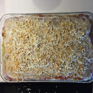 Ready for the oven!