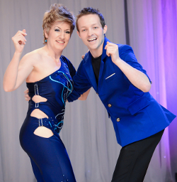 David & Maria performing WCS at MADjam 2013.