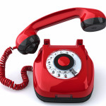 old-school red phone