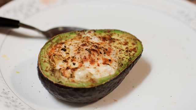 Baked Avocado & Egg Photo
